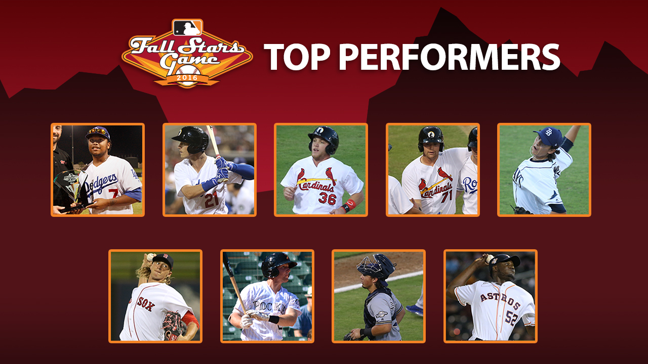 Top 9 performers from AFL Fall Stars Game