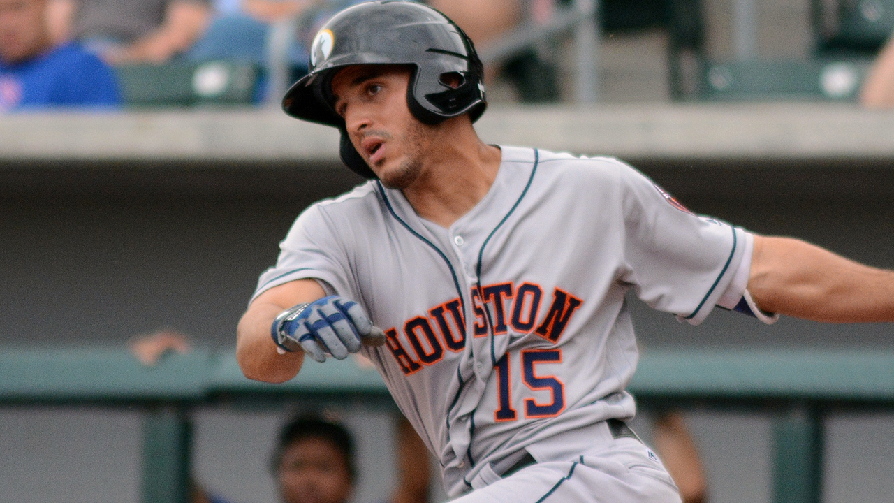 Astros' Laureano named AFL's Player of the Week