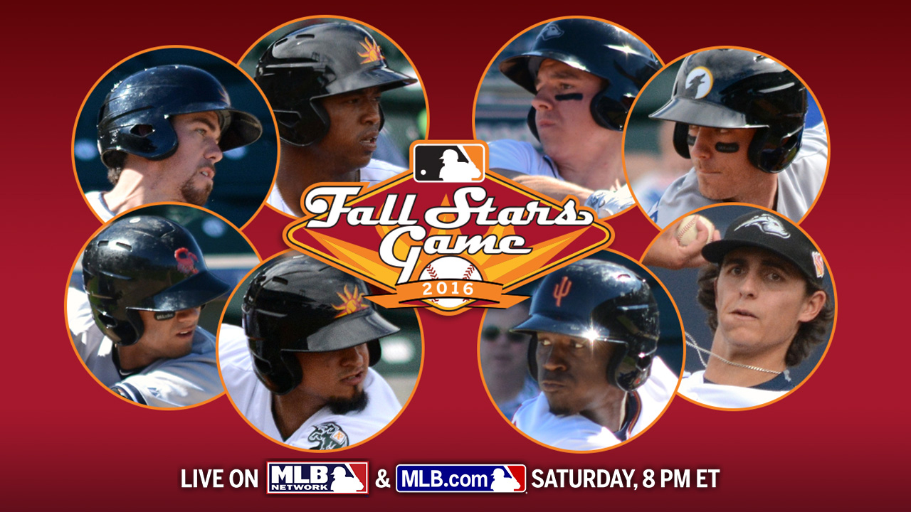 Fall Stars Game rosters include 15 Top 100 prospects