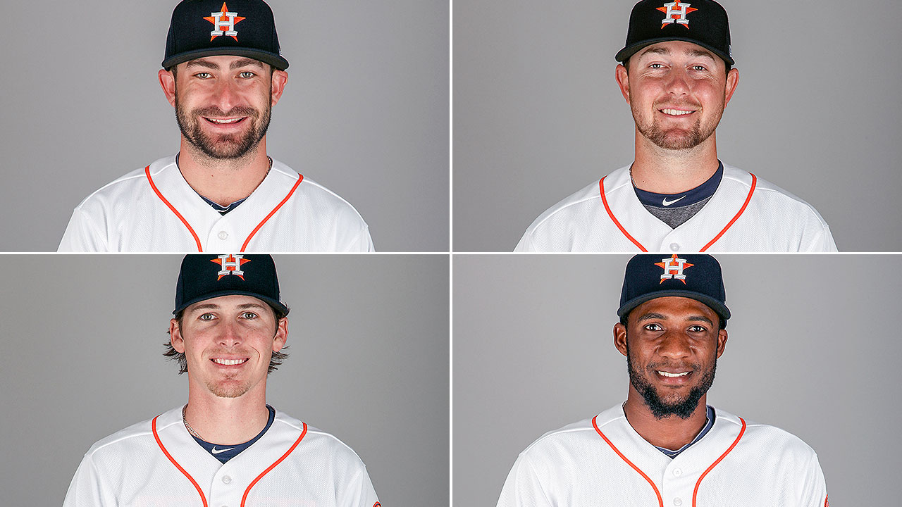 Astros reassign 4 in 2nd round of roster moves