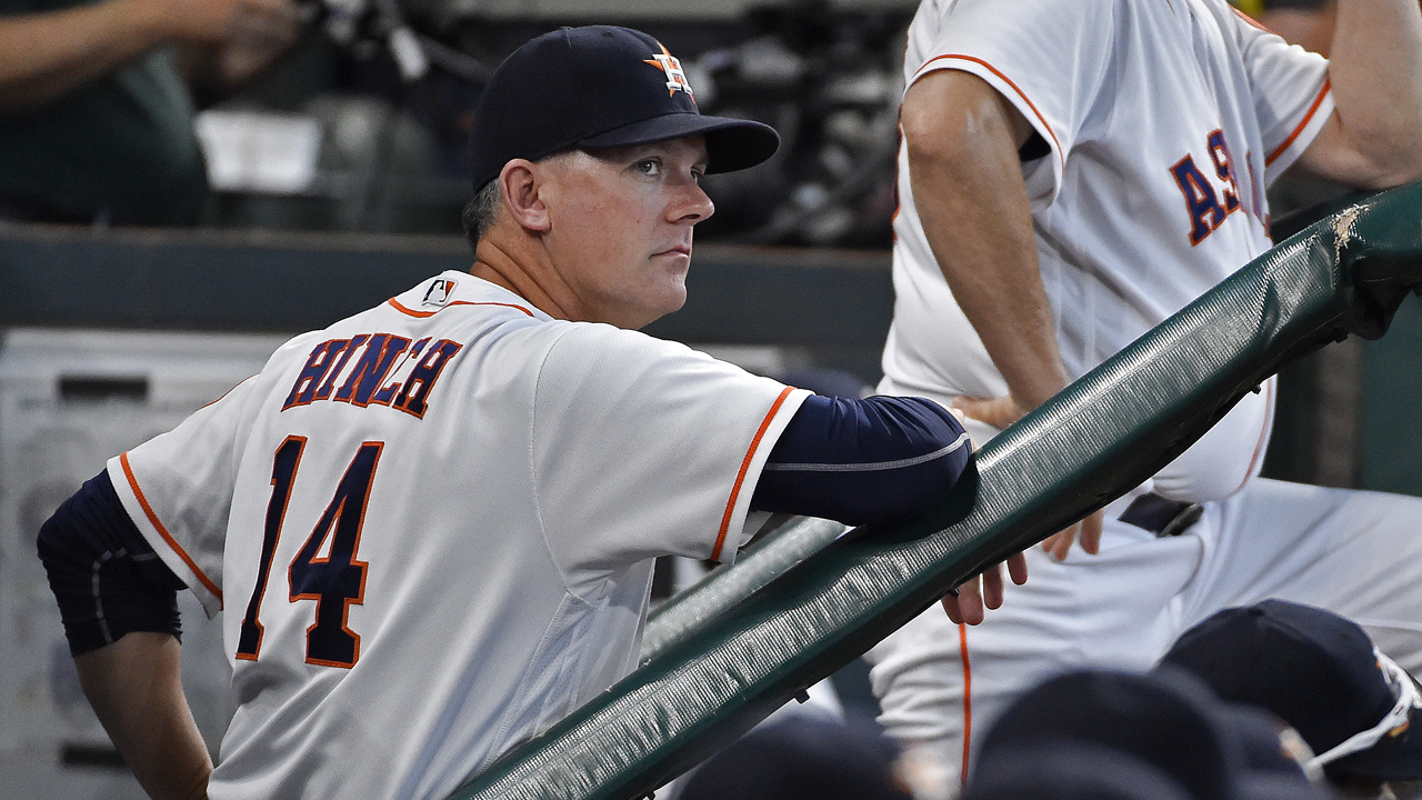 Astros return to work after off-day elimination
